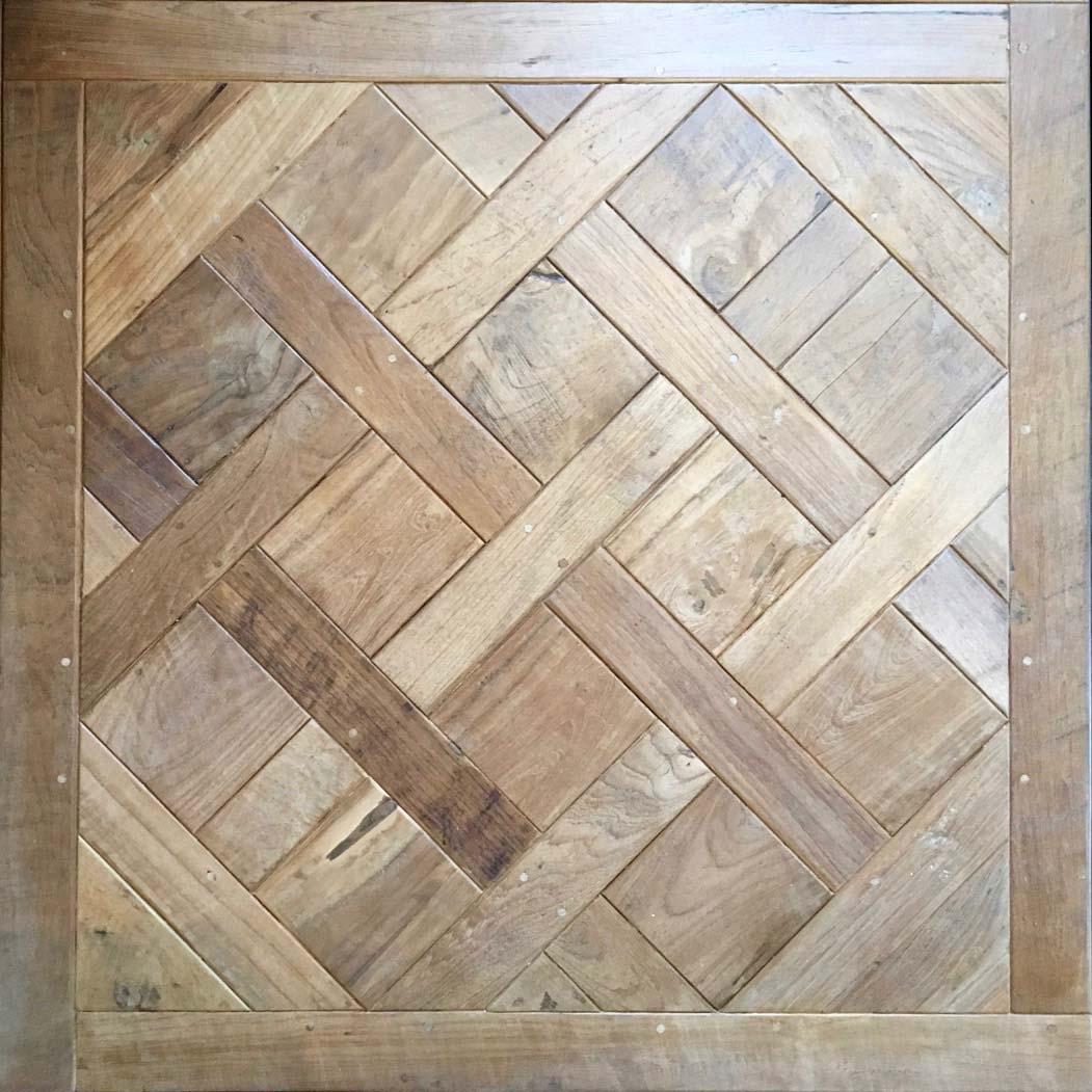 parquet versaille - Reclaimed Teak Flooring