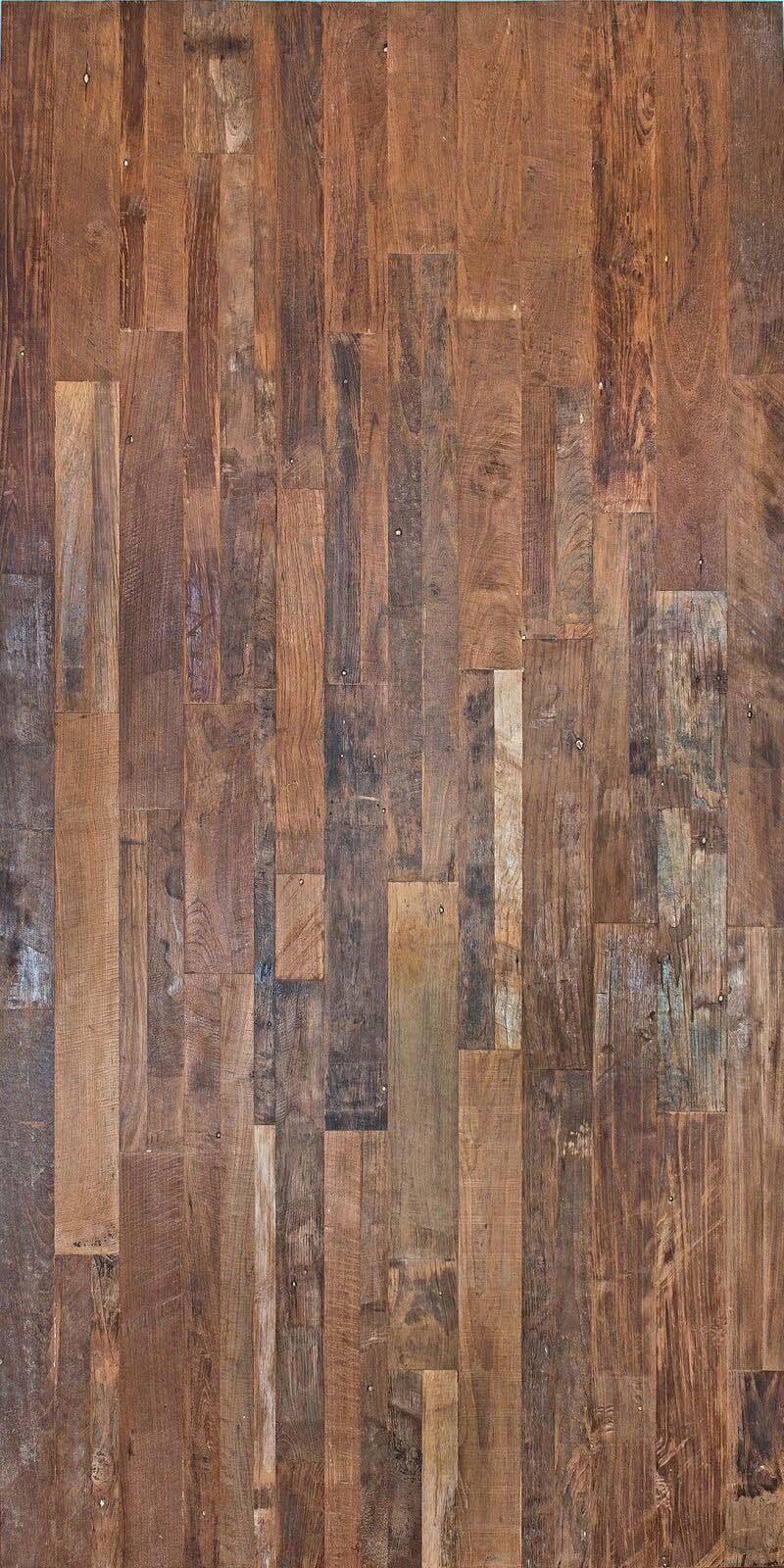 patina full sheet - Reclaimed Teak Plywood Panels