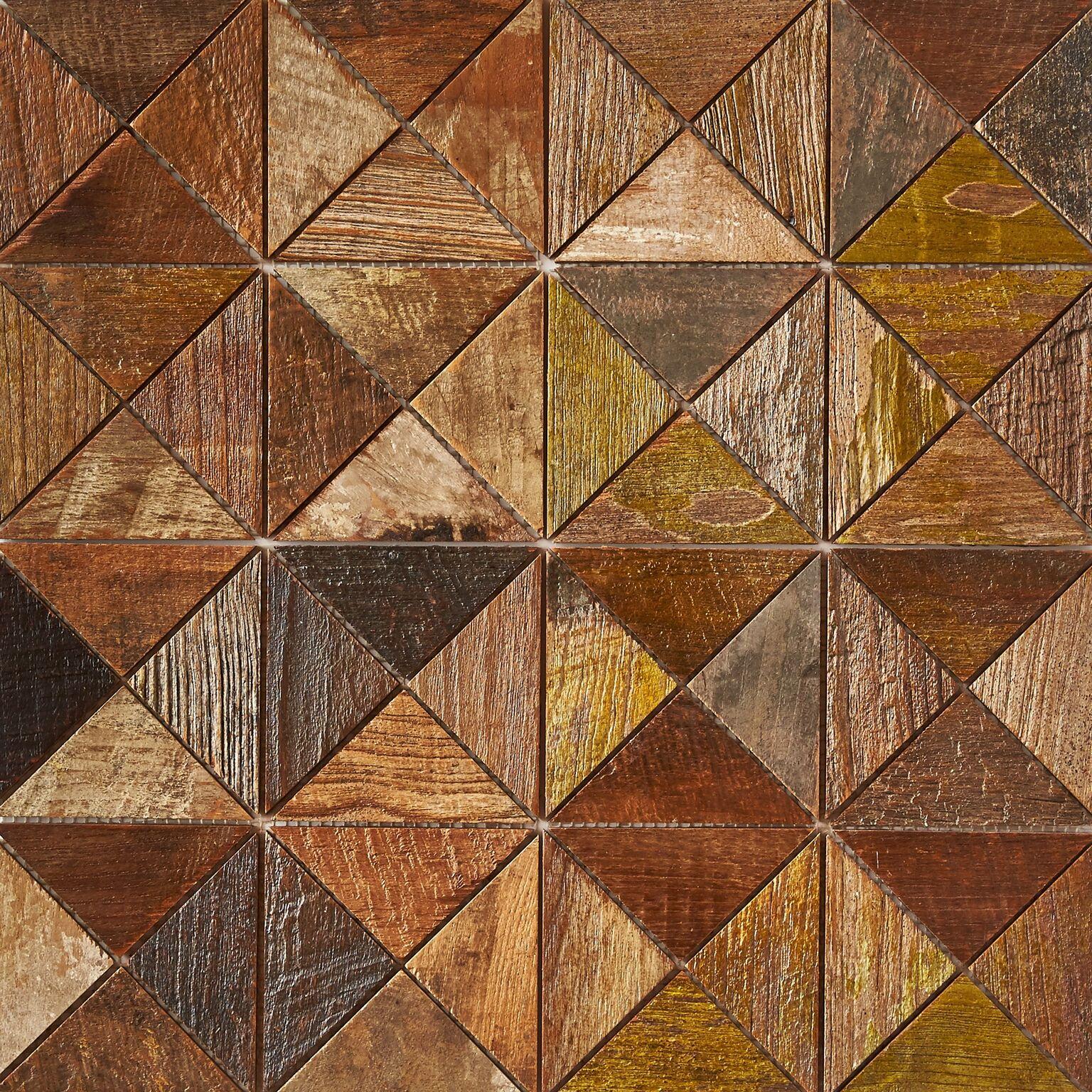 patina matte finish 8 - Teak Tile - Crosscut