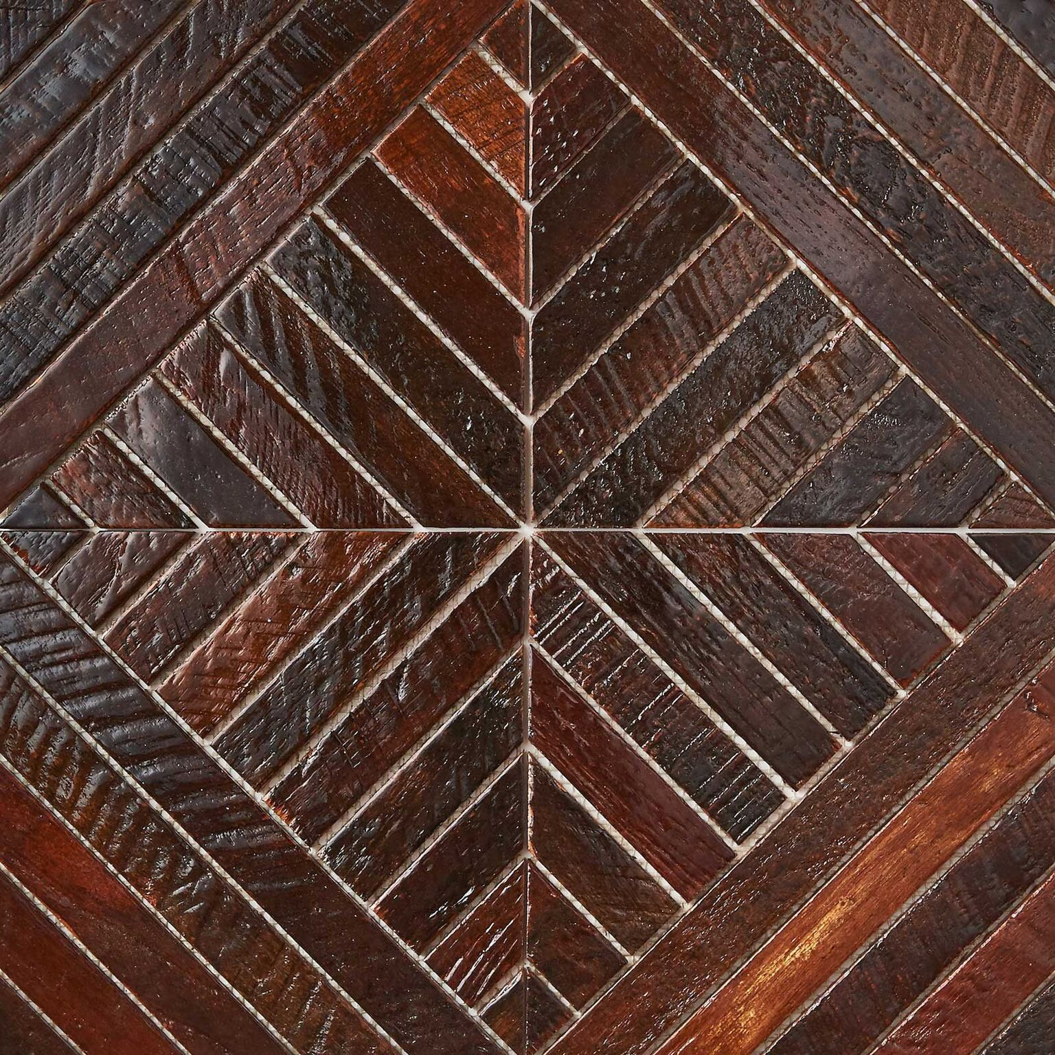 patina resin finish 3 - Teak Tile - Align