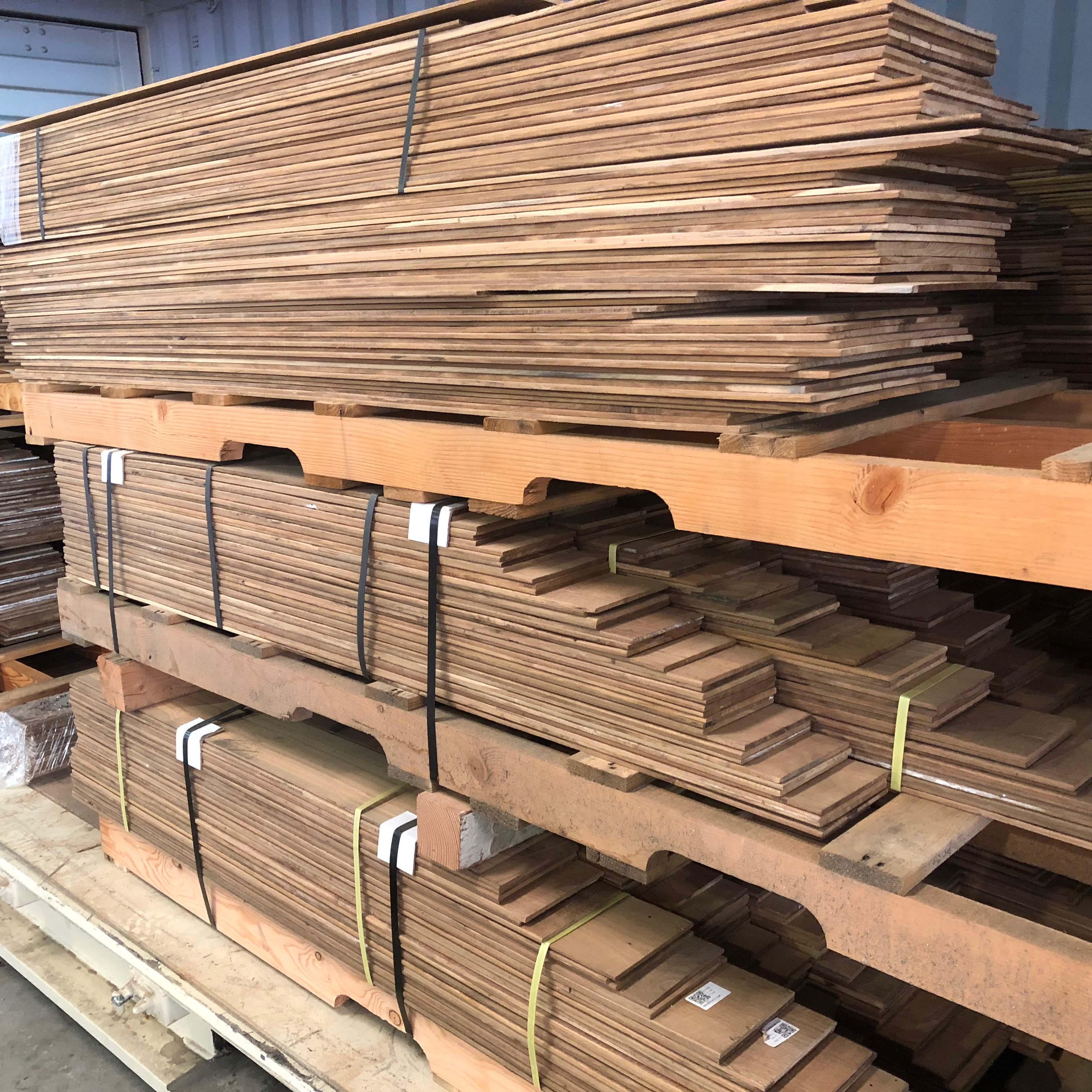 patina siding - Reclaimed Teak Siding