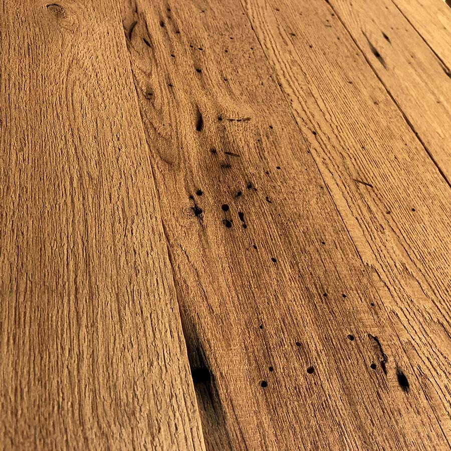 resawn chestnut barnwood - Reclaimed Planking Wormy Chestnut