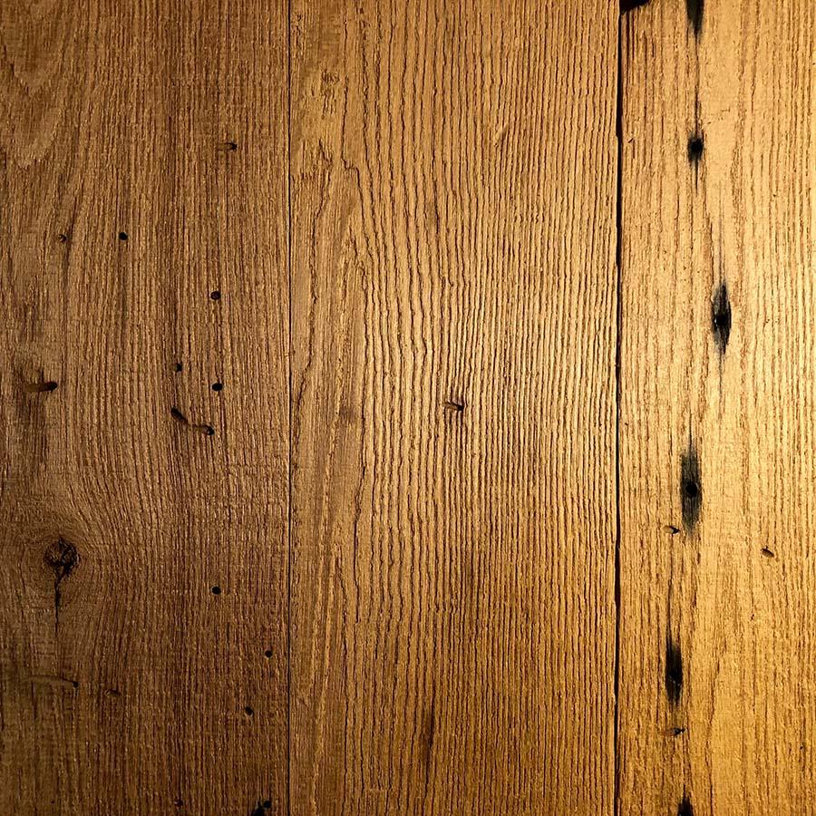 resawn chestnut planking - Reclaimed Planking Wormy Chestnut