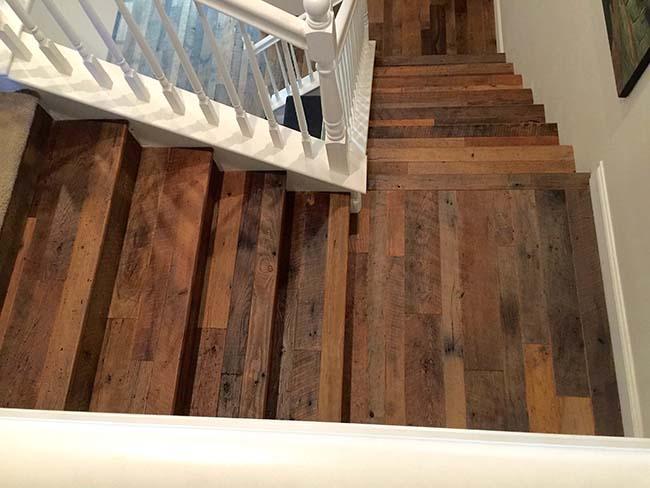 rustic chestnut flooring03 - Reclaimed Chestnut