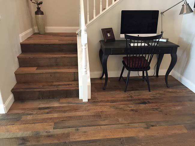 rustic chestnut flooring05 - Reclaimed Chestnut