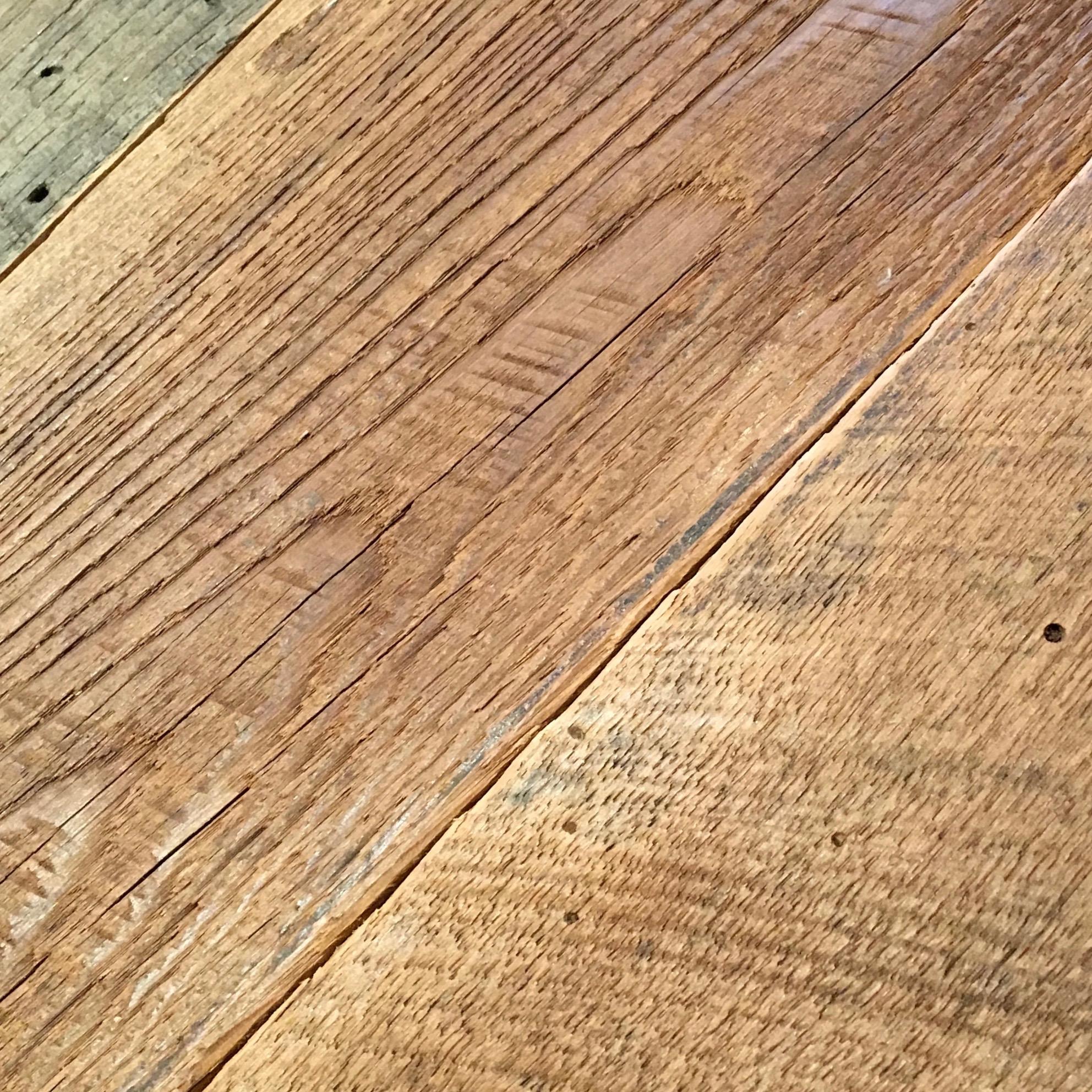 sanded chestnut planking - Reclaimed Planking Wormy Chestnut