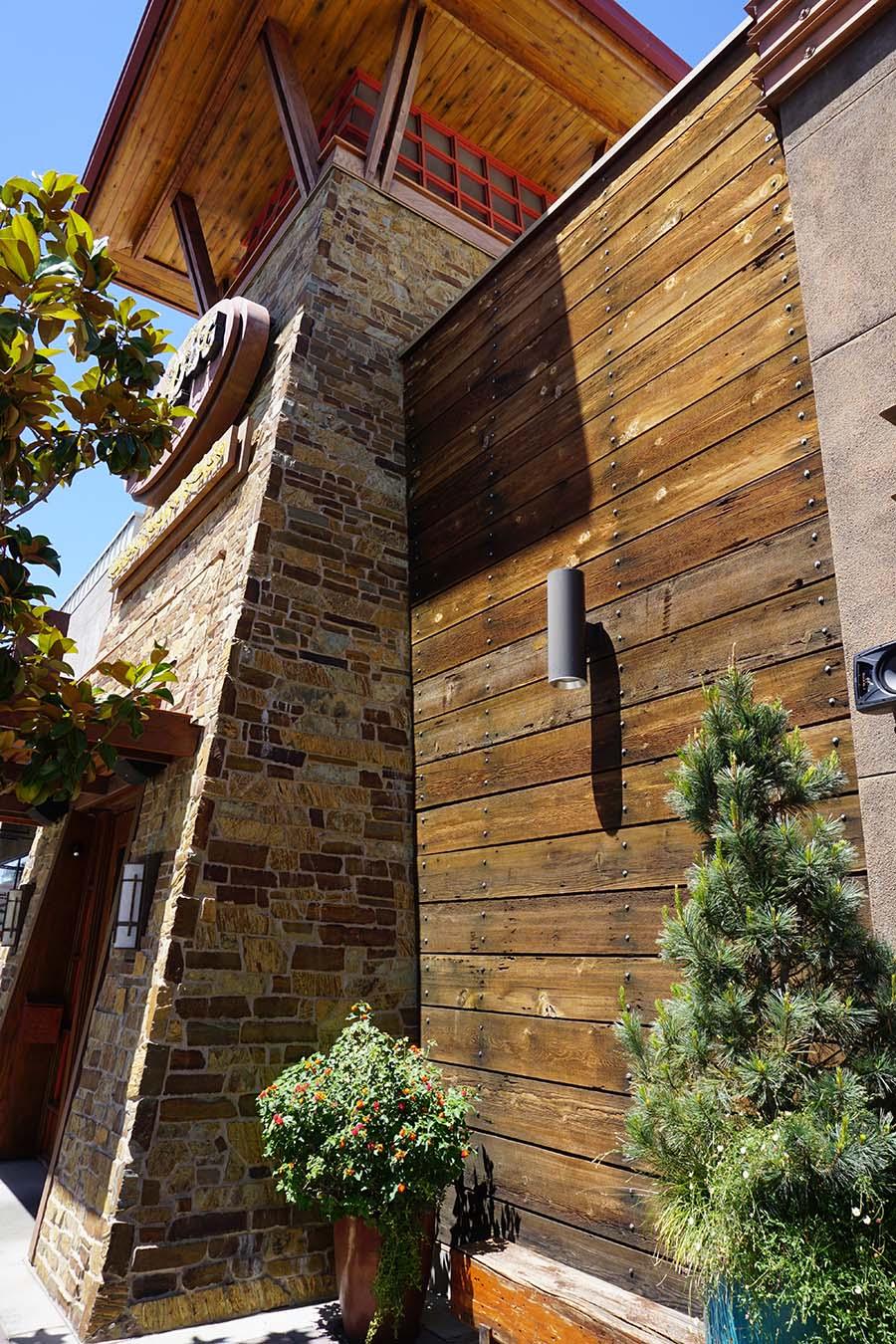 sanded douglas fir exterior siding2 - Reclaimed Planking Douglas Fir