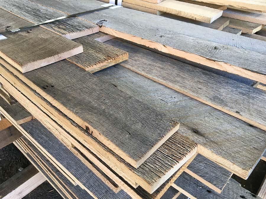 sanded gray oak03 - Reclaimed Planking Barn Oak