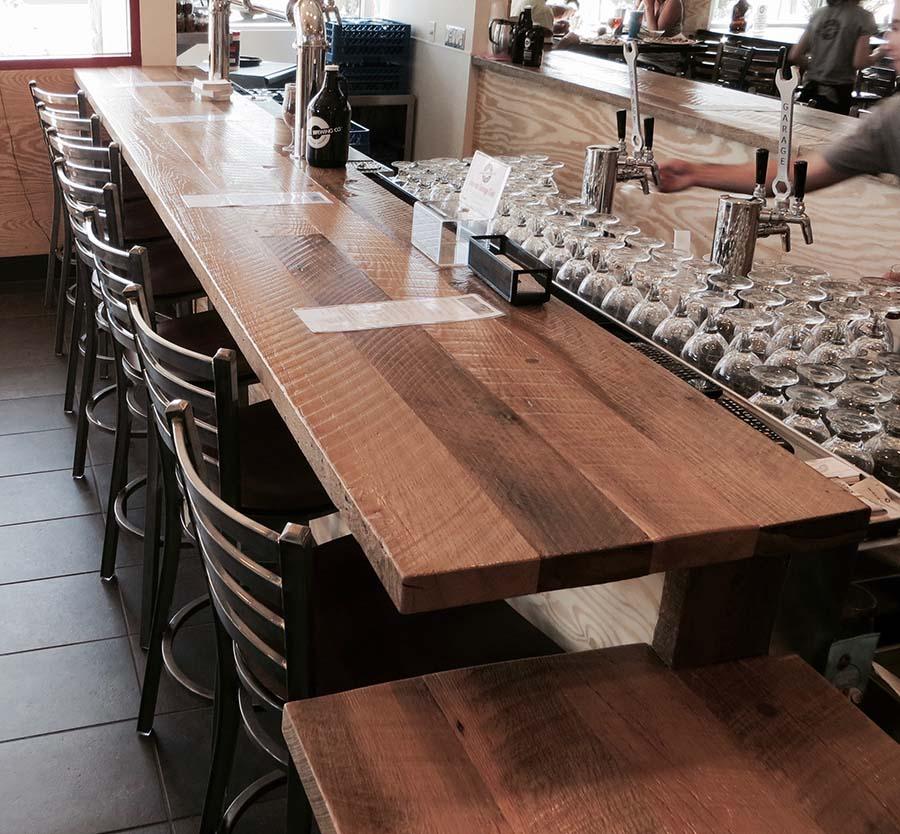 sanded plank oak05 - Reclaimed Planking Barn Oak