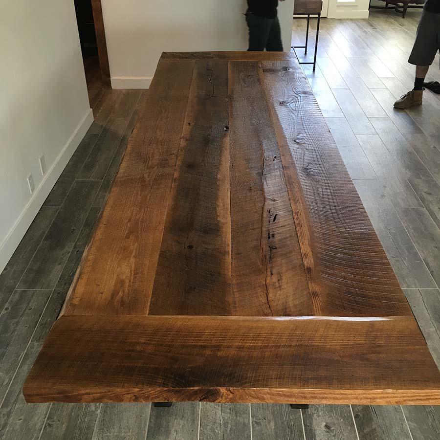sanded plank oak08 - Reclaimed Planking Barn Oak