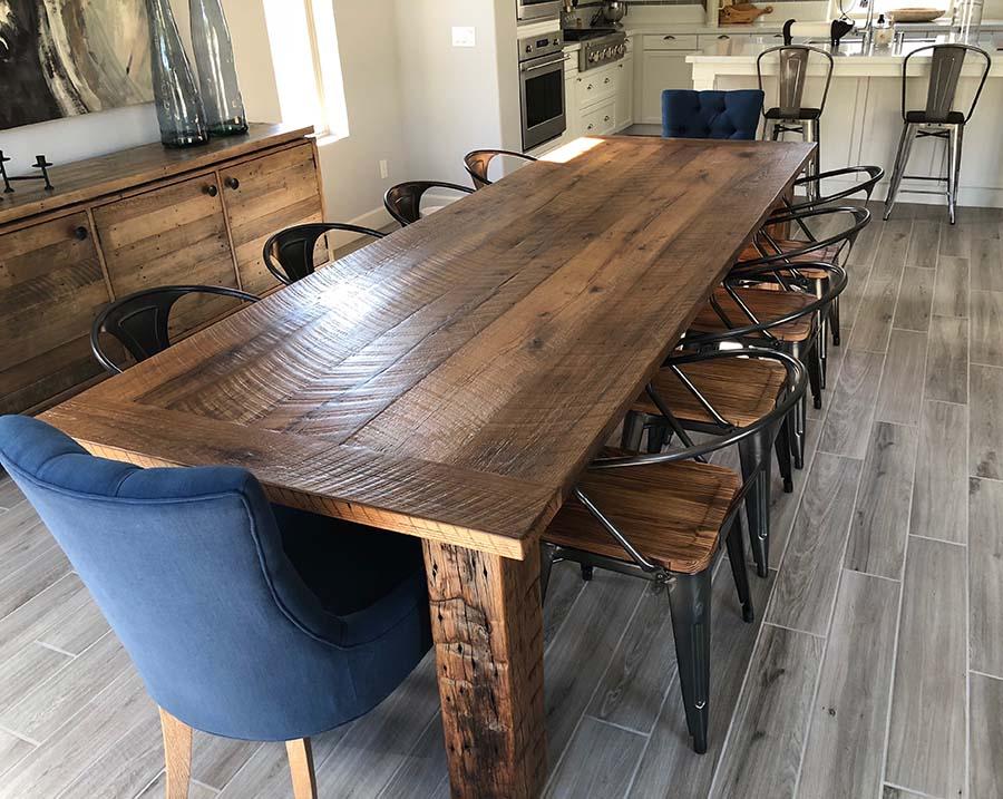 sanded plank oak12 - Reclaimed Planking Barn Oak