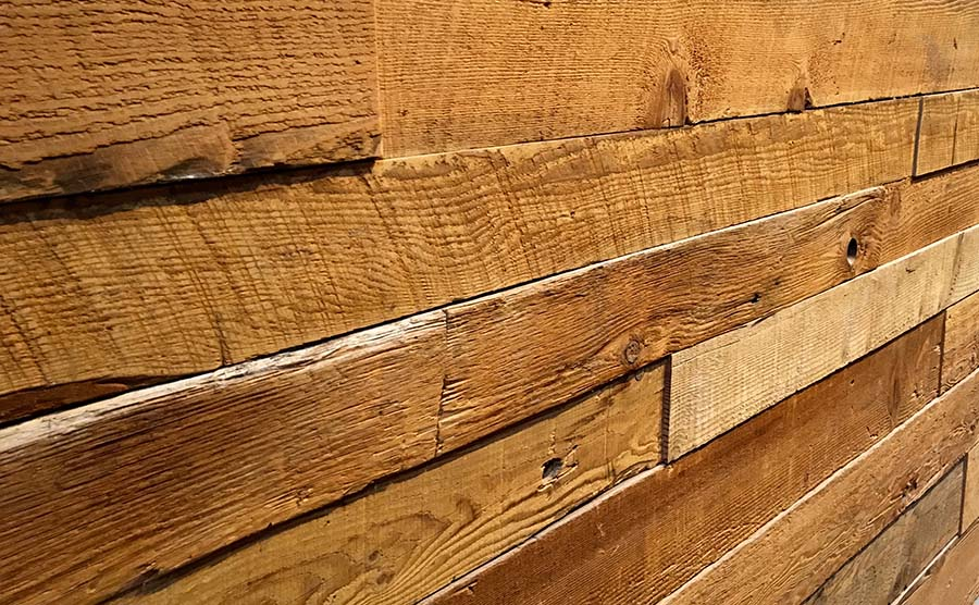 sanded wood siding - Reclaimed Planking Douglas Fir