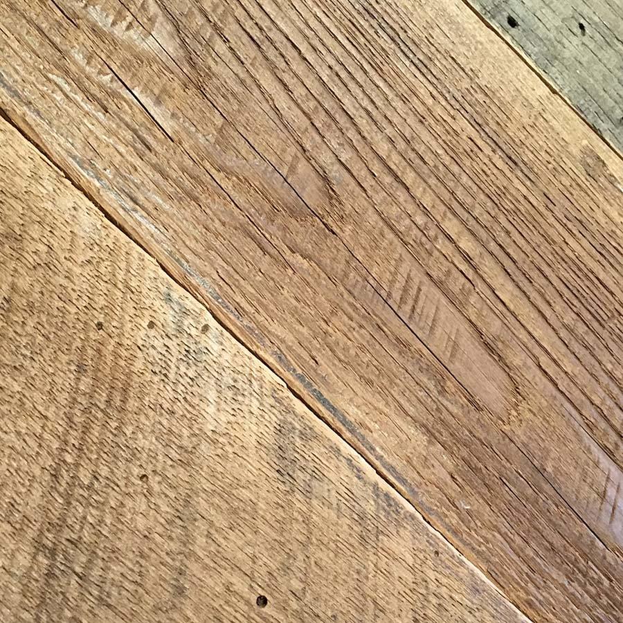 sanded wormy chestnut planking - Reclaimed Planking Wormy Chestnut