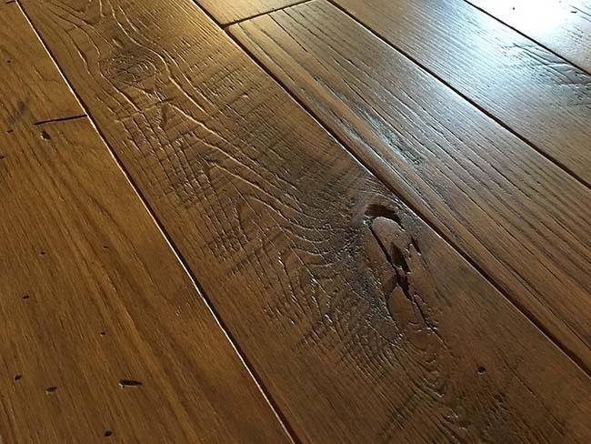 semi chestnut flooring02 - Reclaimed Chestnut