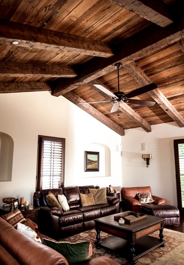 semi surfaced douglas fir ceiling decking - Reclaimed Planking Douglas Fir