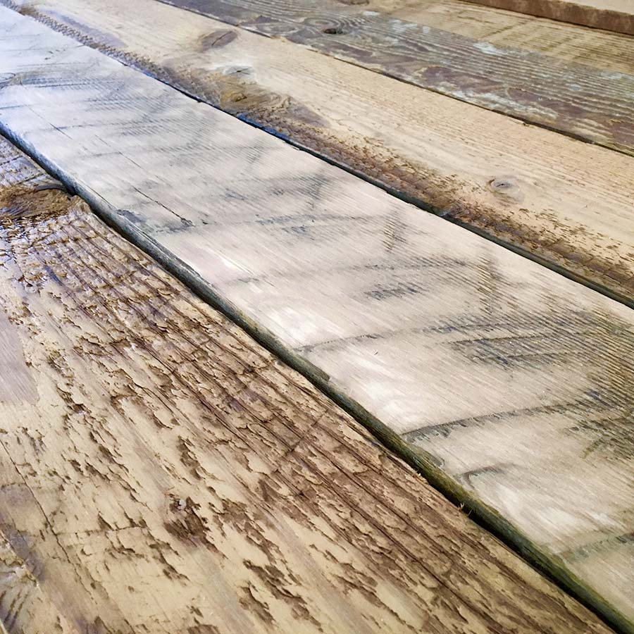 semi surfaced douglas fir planking - Reclaimed Planking Douglas Fir