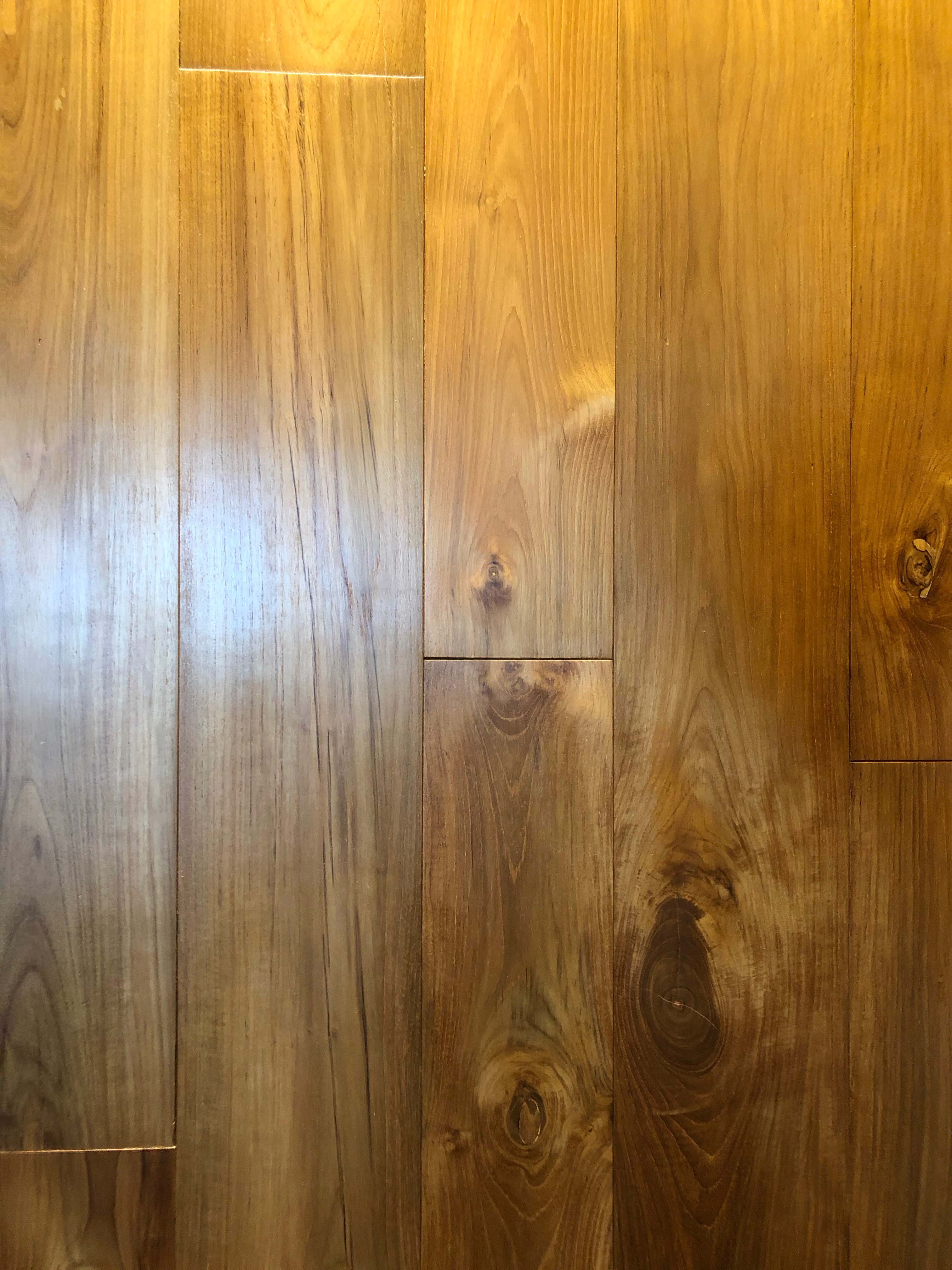 smooth wax finish - Reclaimed Teak Flooring