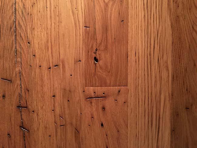 surfaced chestnut flooring02 - Reclaimed Chestnut