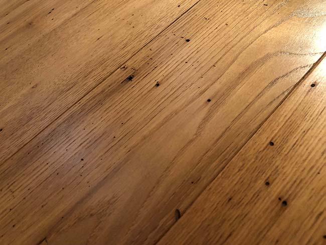 surfaced chestnut flooring03 - Reclaimed Chestnut