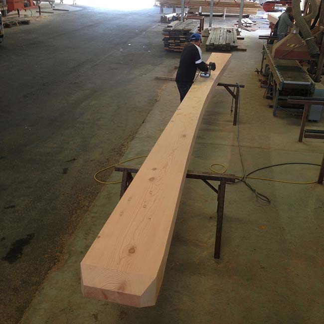 surfaced douglas mantels03 - Reclaimed Mantel Douglas Fir