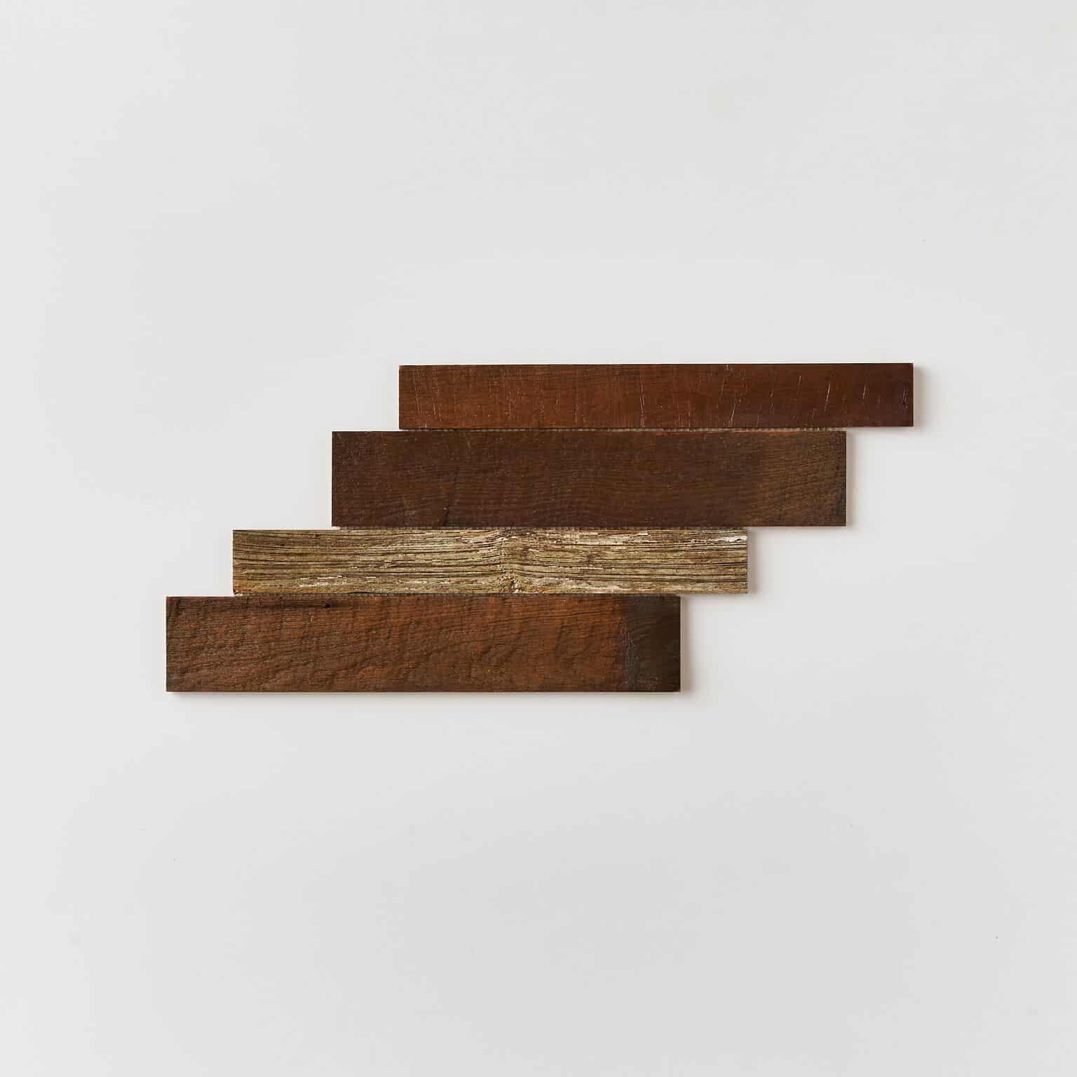 unspecified 20 - Teak Tile - Herringbone