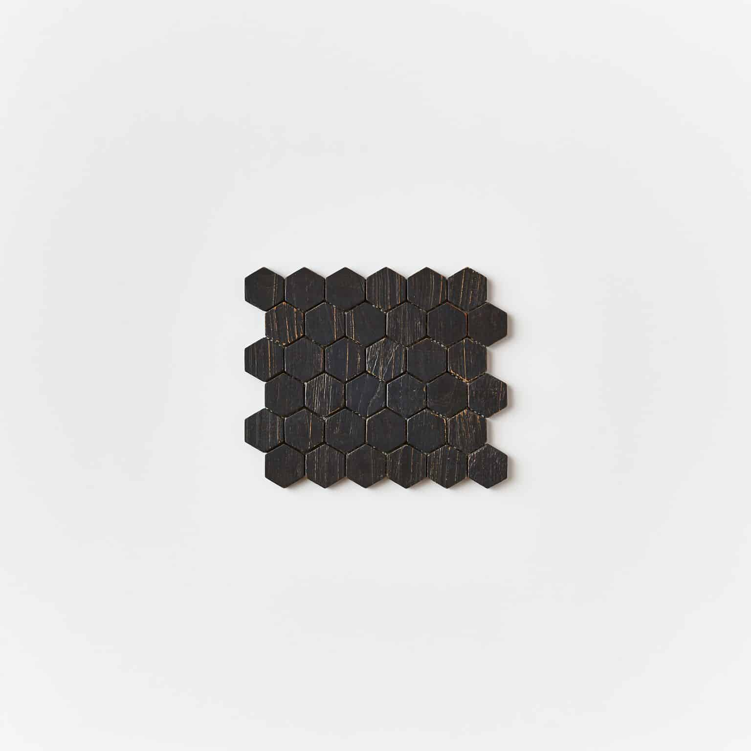 unspecified 22 - Teak Tile - Honeycomb