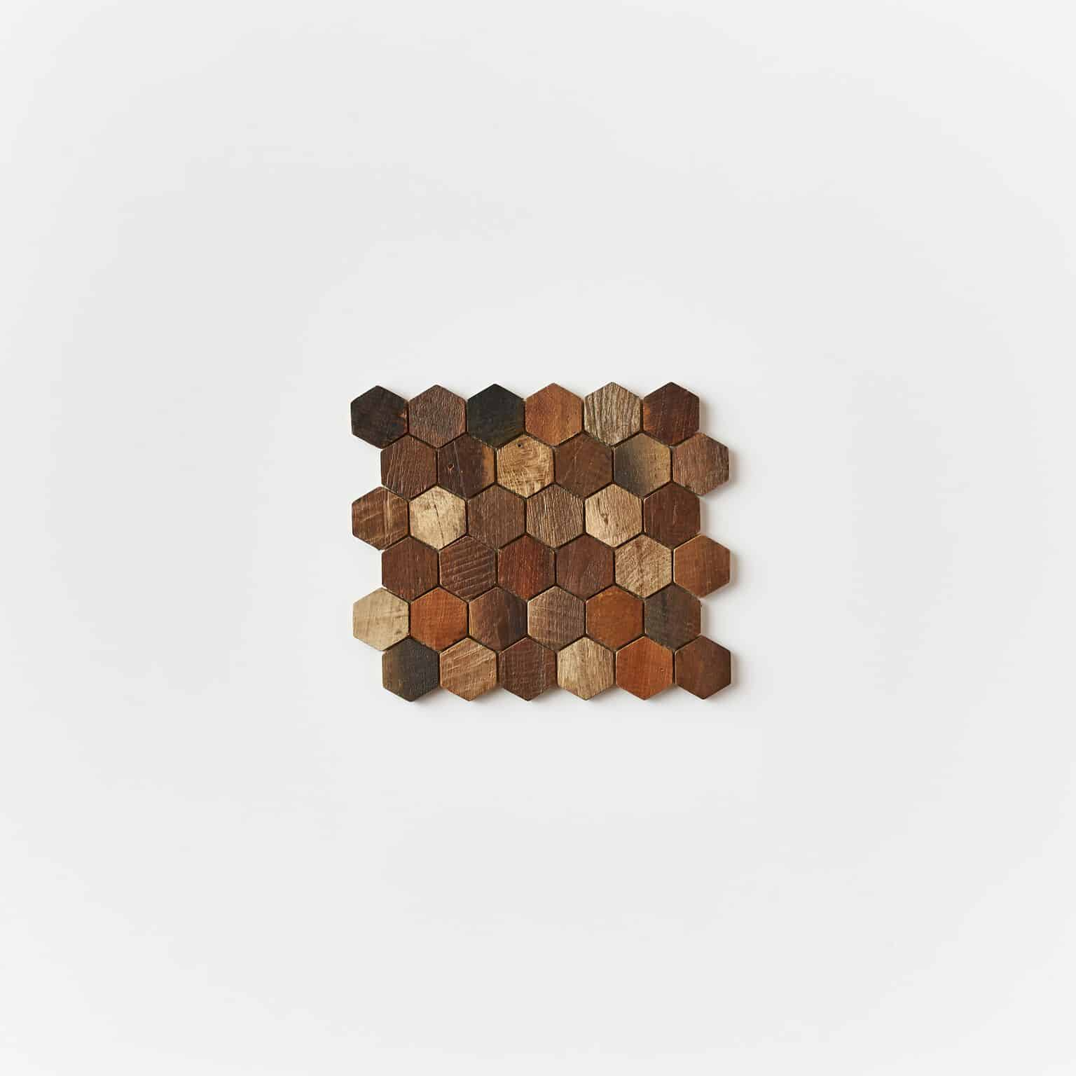unspecified 23 - Teak Tile - Honeycomb