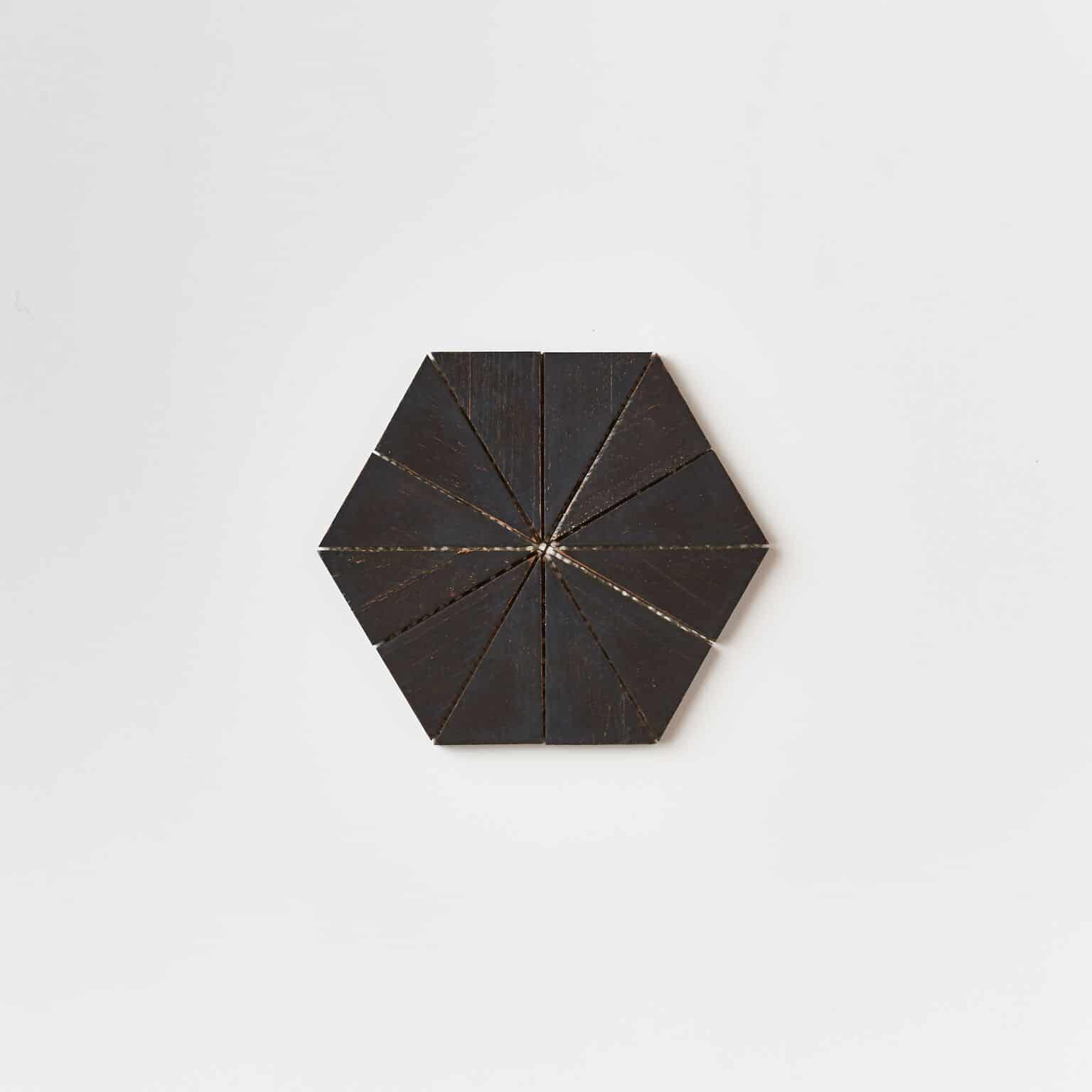 unspecified 34 - Teak Tile - Starburst