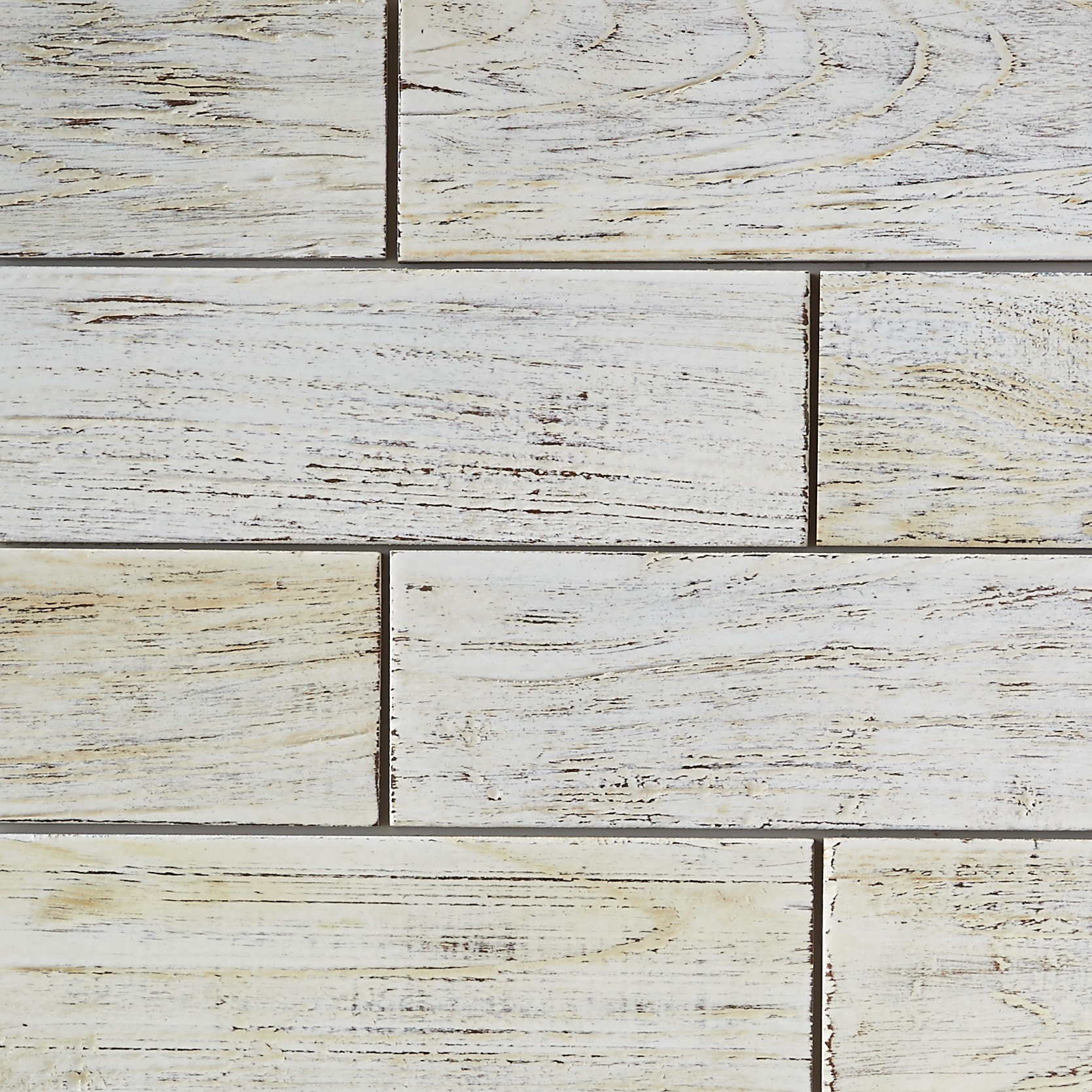 white resin finish 11 - Teak Tile - Subway