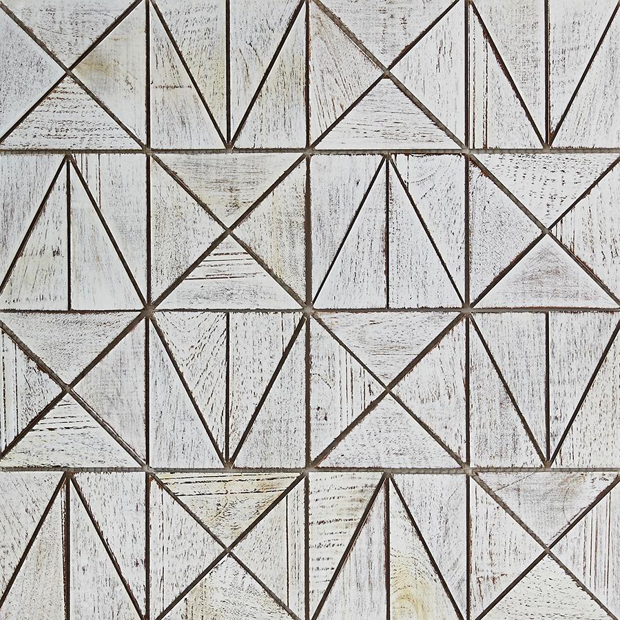 white resin finish 6 - Teak Tile - Rune