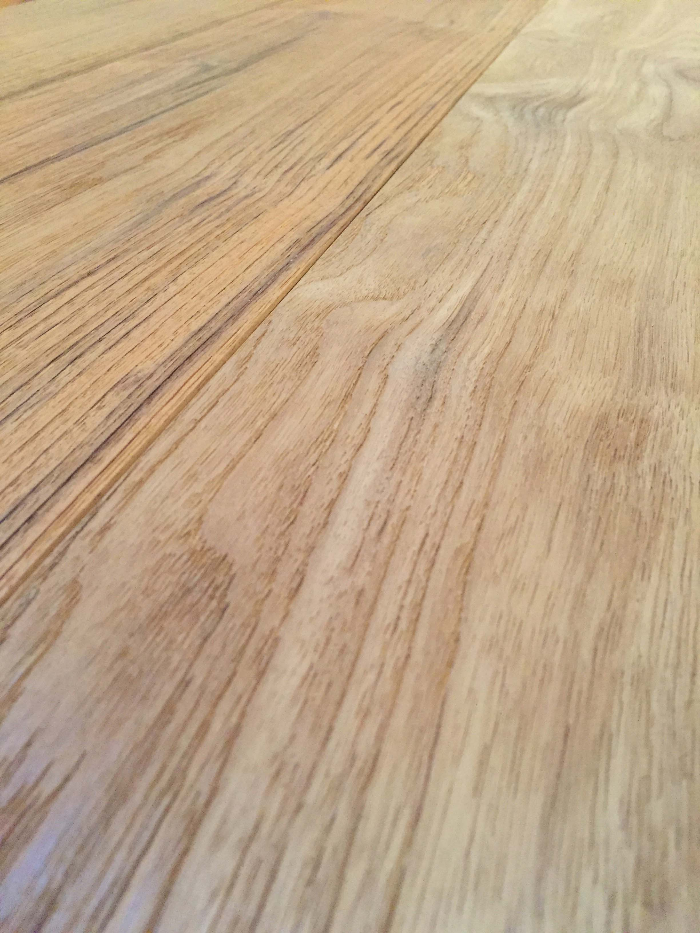 wire brushed detail - Reclaimed Teak Flooring