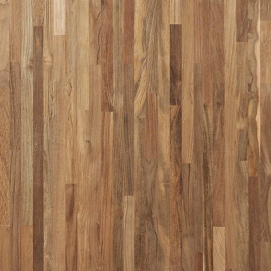 wire brushed fingerjoint teak plywood - Reclaimed Teak Plywood Panels