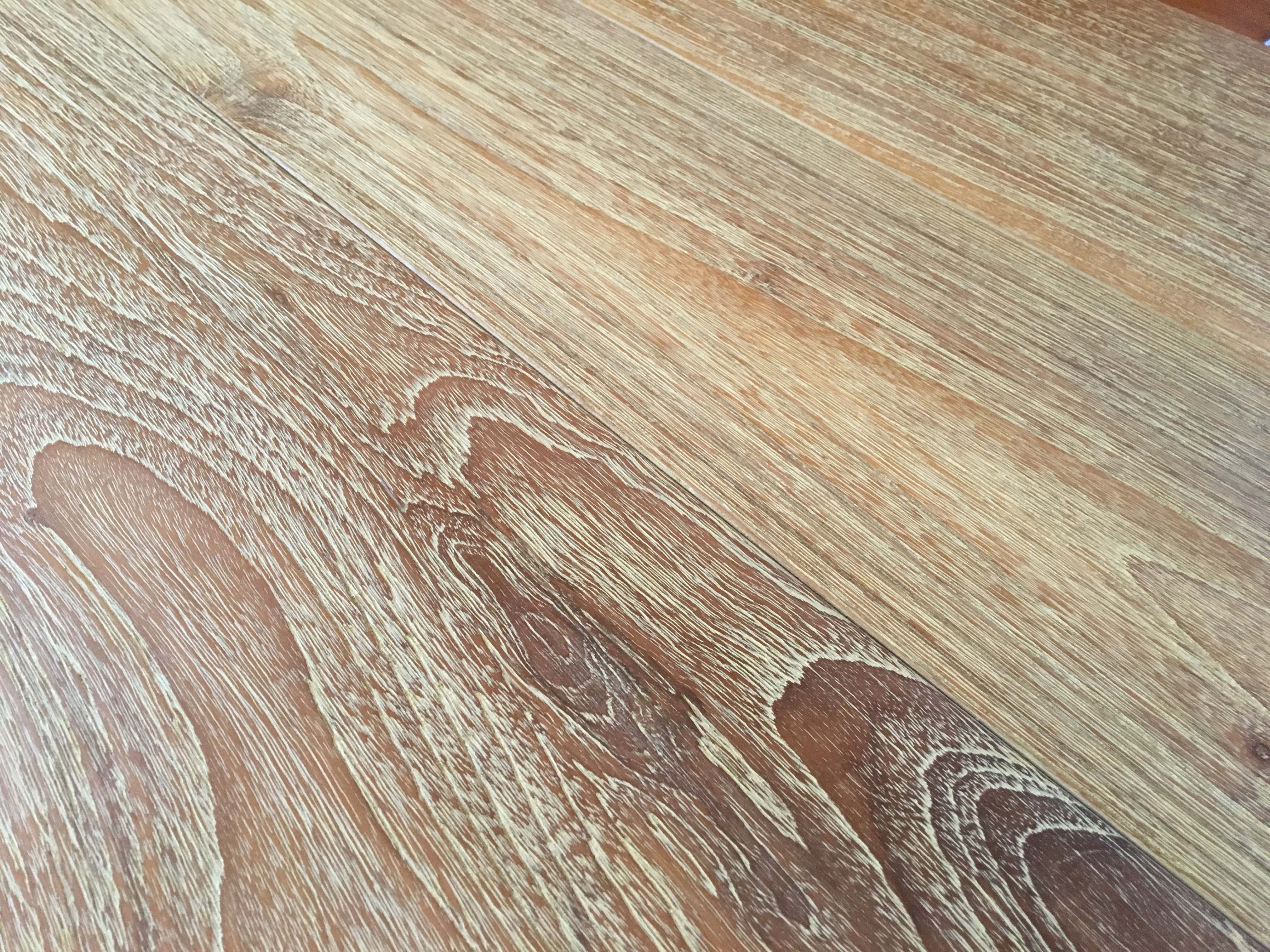 wire brushed flooring - Reclaimed Teak Flooring